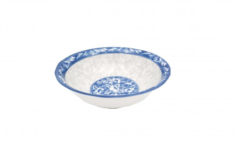 Set 6 boluri ceramica, model floral