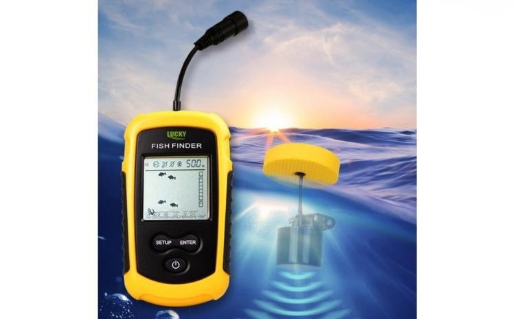 Sonar Pescuit Fish Finder Pentru Localizarea Pestilor