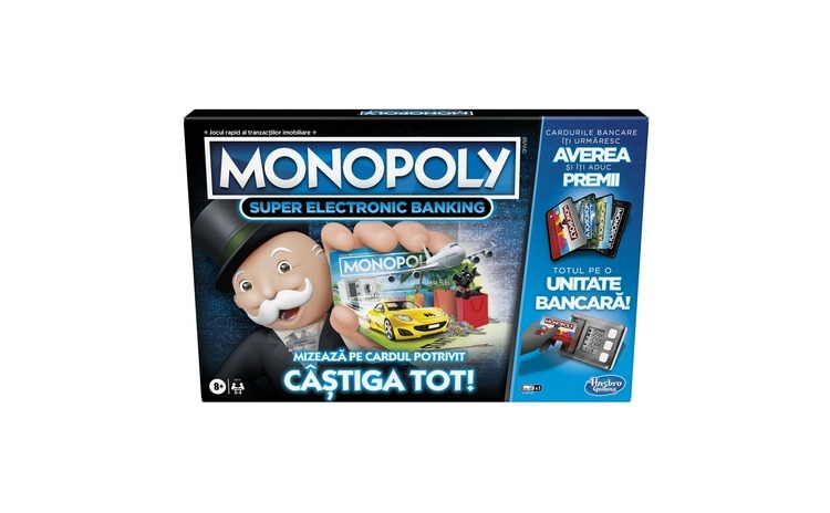 MONOPOLY SUPER ELECTRONIC BANKING -