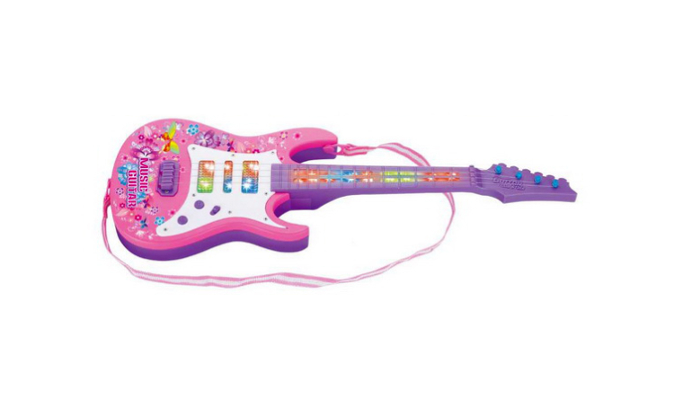 Set Chitara electrica si Microfon