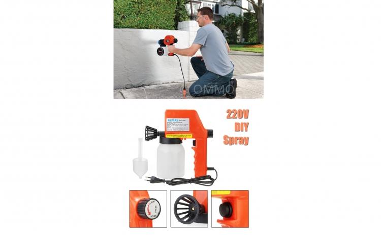 Imagine indisponibila pentru Pistol pentru vopsea spray - 220V - pentru o zugravire profesionista