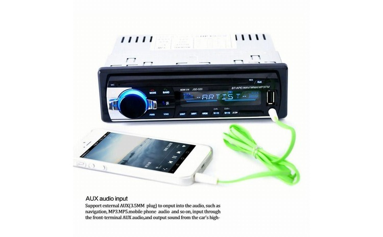 Radio MP3 auto 4 X 50 W cu Bluetooth