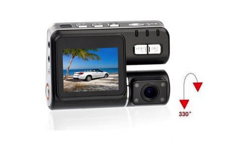 Camera auto HD rotativa