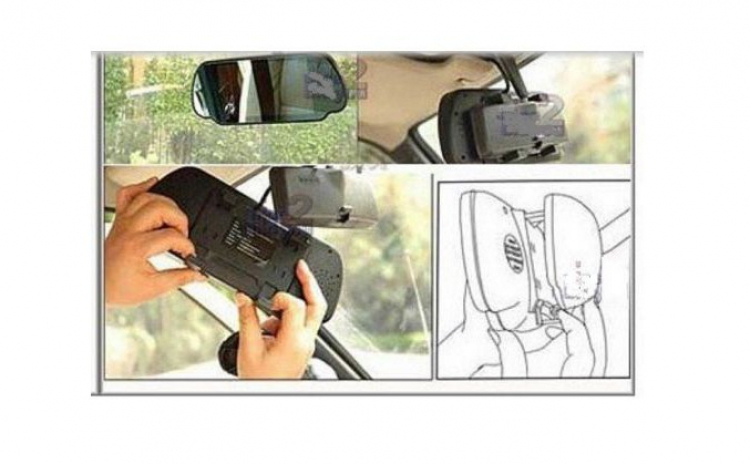 """Oglinda auto retrovizoare cu monitor 7"""""""