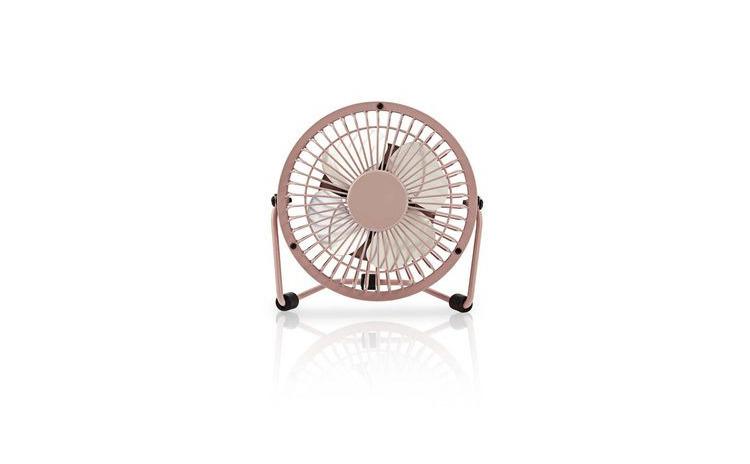 Ventilator de masa 10cm 2.5W roz, Nedis