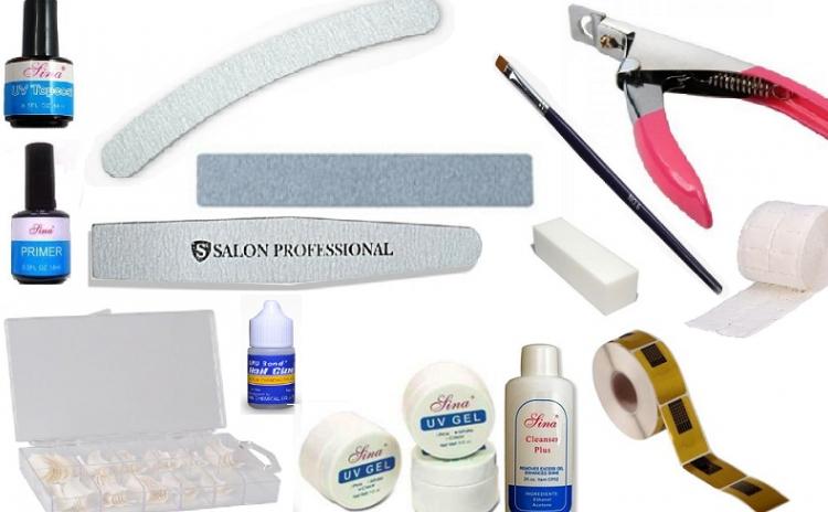 Kit complet unghii pentru incepatori cu toate produsele de care aveti nevoie, la doar 79 RON in loc de 219 RON