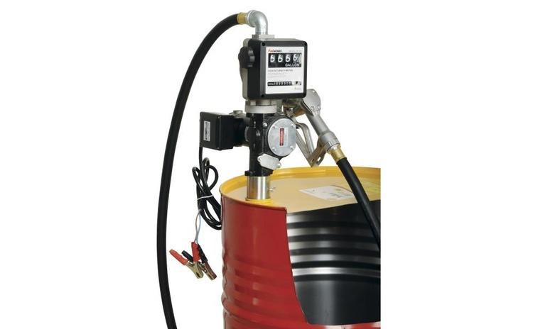 Distribuitor ulei cu pompa electrica 35