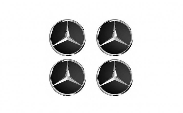 Set 4 capace jante cu sigla Mercedes