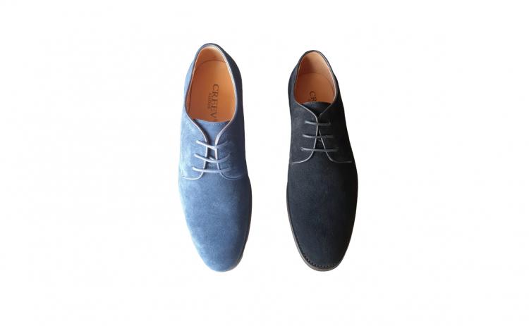 Pantofi eleganti barbati, piele intoarsa