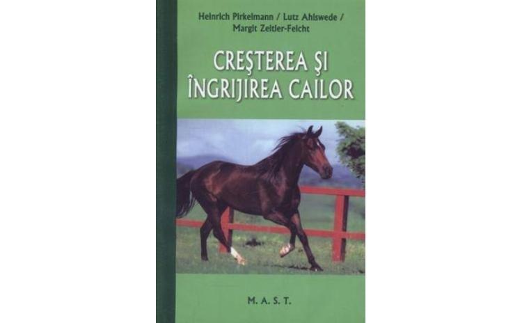 Cresterea si ingrijirea cailor, autor