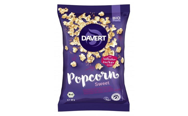 Popcorn dulce bio 80g