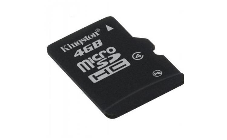 Card de memorie micro SD Kingston 4Gb
