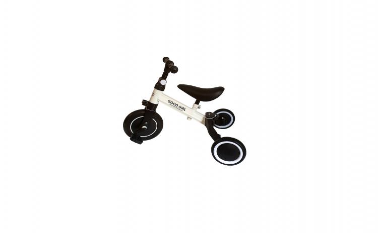 Tricicleta transformabila in bicicleta
