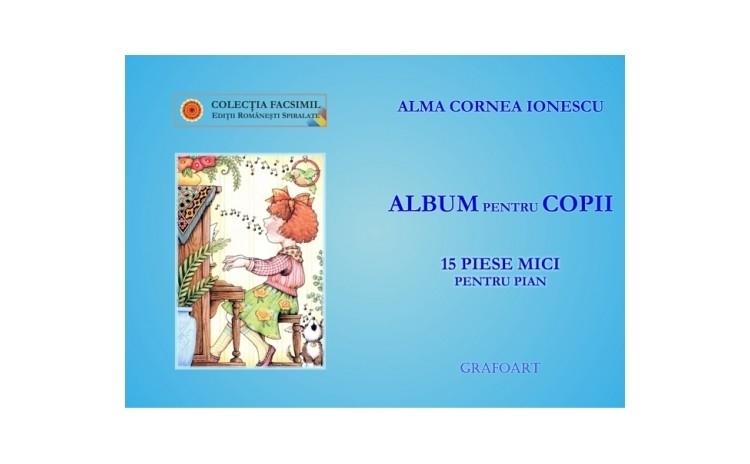 Album pentru copii - Alma Cornea