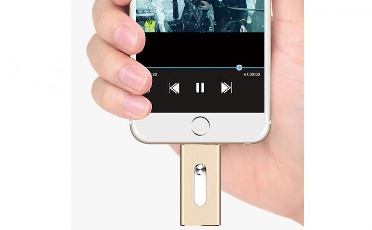 Noul Istick - Stick-ul Usb 16 Gb Pentru Ipad, Iphone, Android Si Pc Cu Conector Lightning, La 159 Ron In Loc De 423 Ron. Vezi Video!