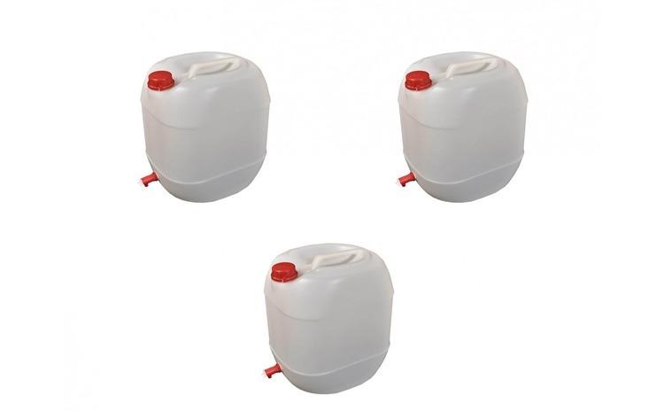 Pachet 3 canistre cu robinet de 30L