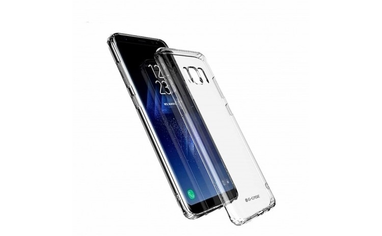 Husa Samsung S8 G-CASE Transparent