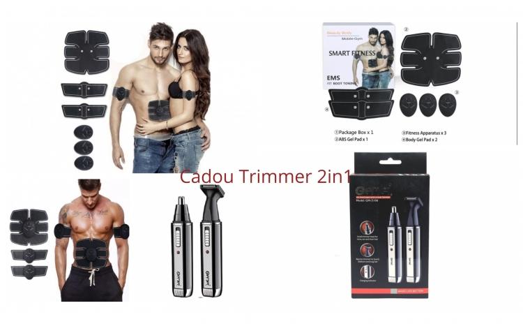 Kit fitness electrostimulare + Cadou