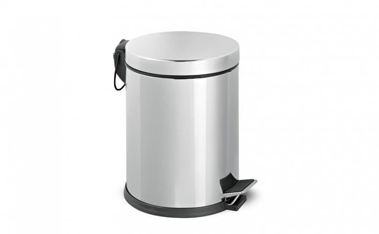 Cos de gunoi din inox cu pedala 3L