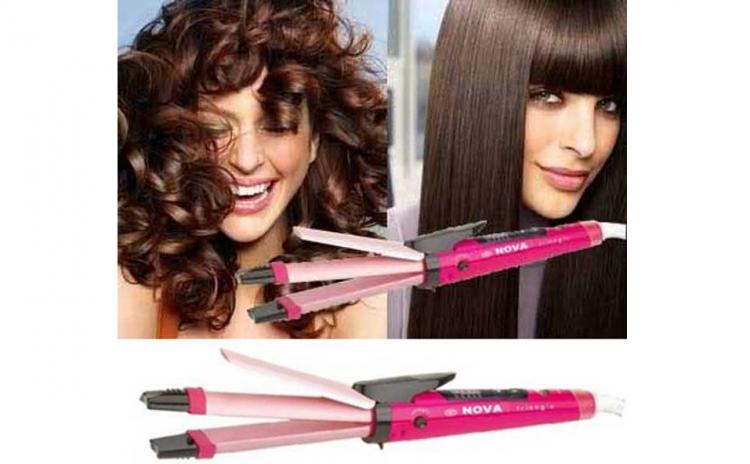 Hair Beauty Set 2 in 1 Placa + Ondulator
