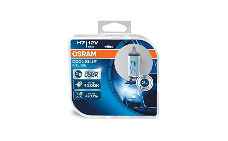Imagine indisponibila pentru Set 2 buc Bec H7 CoolBlue Intense Osram 12V