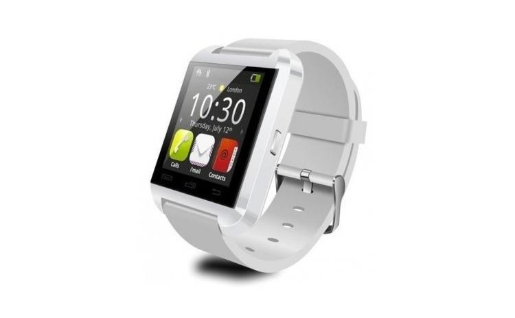 Smartwatch U-Watch Bluetooth U8 alb