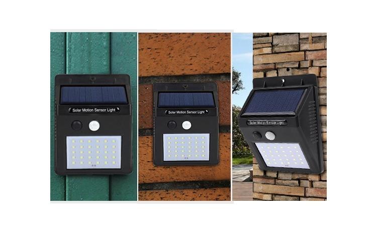 Set 5 lampi solare cu senzor