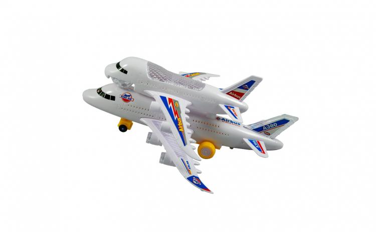 Avion cu sunete si lumini 3D