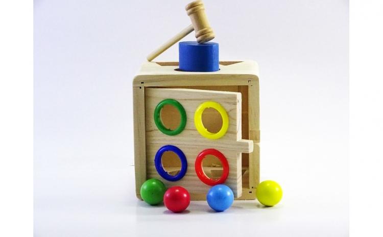 Cub educativ din lemn - diverse activitati
