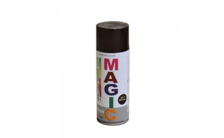 Vopsea spray magic maro 8017 400 ml