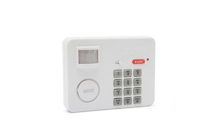 Alarma cu senzor de miscare cu protectie