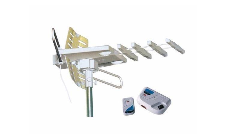 Antena TV cu telecomanda si amplificator
