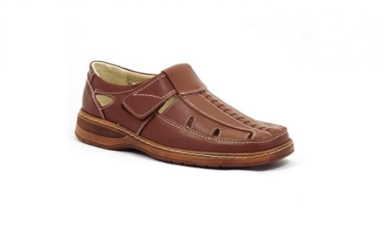 Reduceri Pantofi barbatesti – 40 % Reducere – Pret Pantofi stil sandale piele naturala
