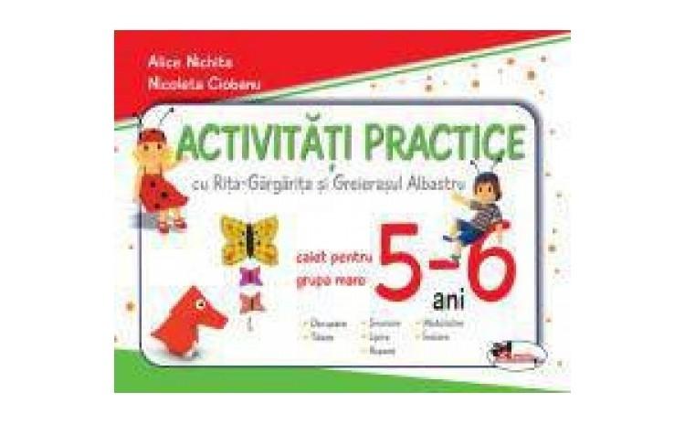 Activitati practice - grupa mare 5-6 ani, autor Alice Nichita, Nicoleta Ciobanu