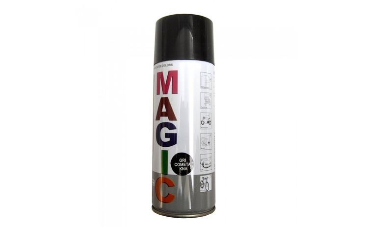 Vopsea spray magic negru metalizat 676