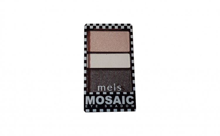 Fard pleoape Meis Mosaic 3 culori No.01