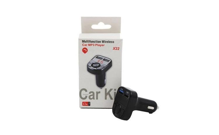 Casca bluetooth mini i7+Modulator FM X22