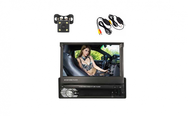 Dvd Auto retractabil, 1 Din