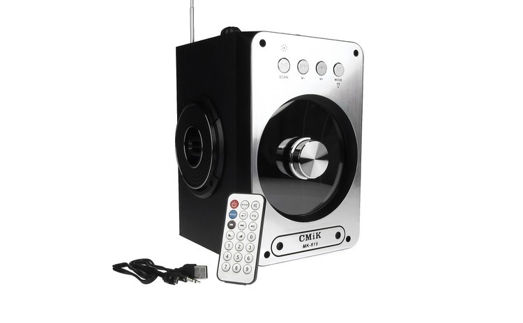 Boxa Bluetooth Portabila Karaoke Radio