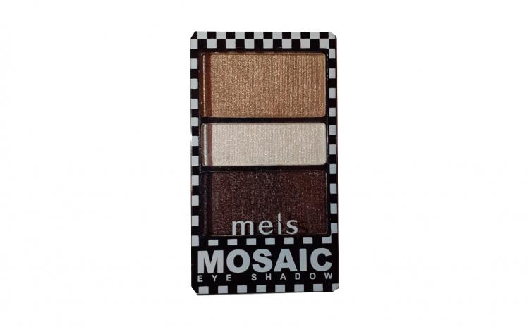 Fard pleoape Meis Mosaic 3 culori No.04