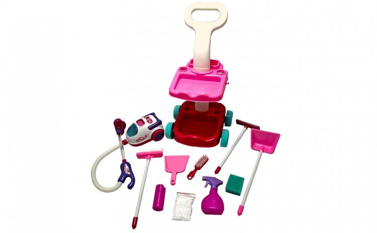 Carucior curatenie pentru copii