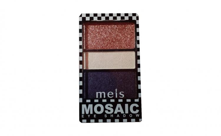 Fard pleoape Meis Mosaic 3 culori No.02