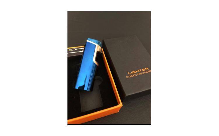 Bricheta Electrica Albastra cu USB