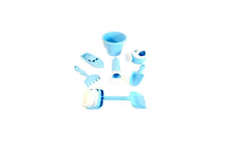 Galetusa cu jucarii pentru nisip, bleu