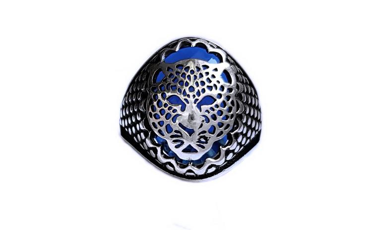 Inel argint 925 cu jaguar si zirconiu