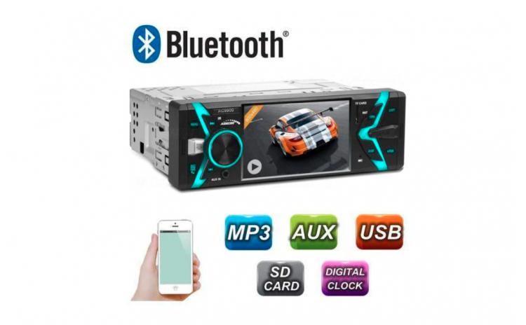 Radio MP3 MP5 Player Auto 1DIN cu Blueto