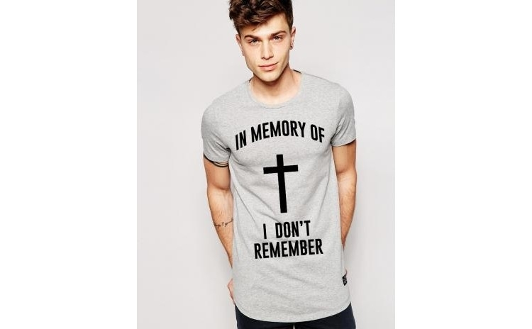 Tricou gri barbati - In memory la doar 65 RON in loc de 130 RON