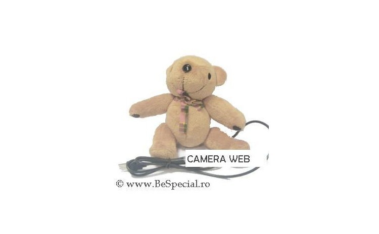 Camera web USB ursulet de plus