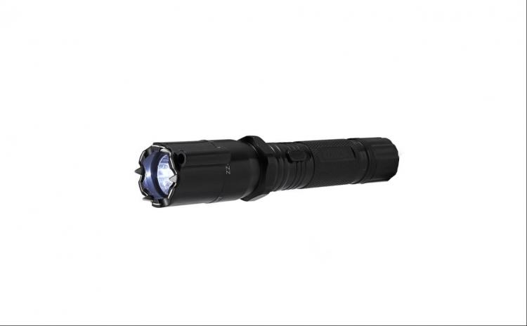 Lanterna cu electrosoc si laser