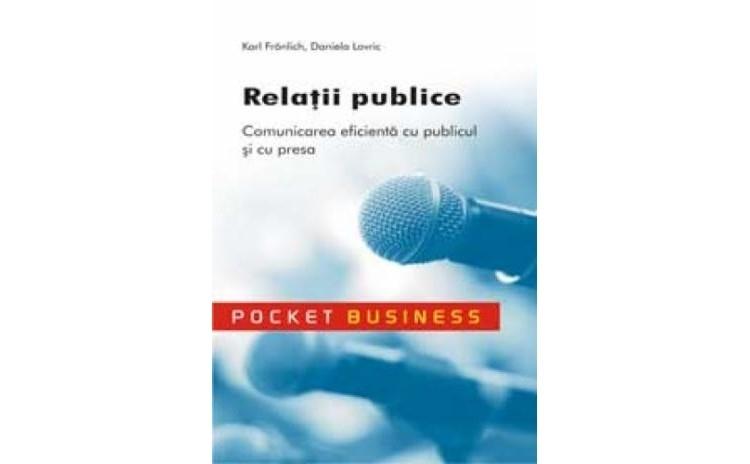 Relatii publice, autor Karl Fronlich